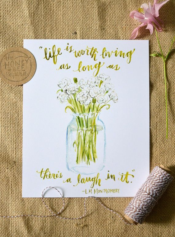 Hey, I found this really awesome Etsy listing at https://www.etsy.com/listing/236897997/watercolor-quote-art-anne-of-green