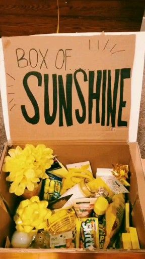 Vsco Happy Boxofsunshine Sunshine Video Birthday