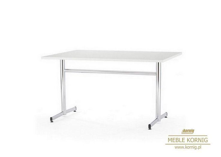 Charakterystyczny stół kawiarniany z prostokątnym blatem, Opcje blat szklany, z płyty wodoodporny w zależności od potrzeb