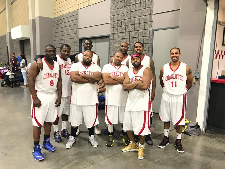 Great time playing basketball with Charlotte Fire Department, Charlotte NC Charlotte-Mecklenburg Police Department at the Church of God in Christ Conference at the Charlotte Convention Center community game.