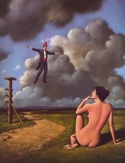116 Best Rafal Olbinski 1945 Images On Pinterest