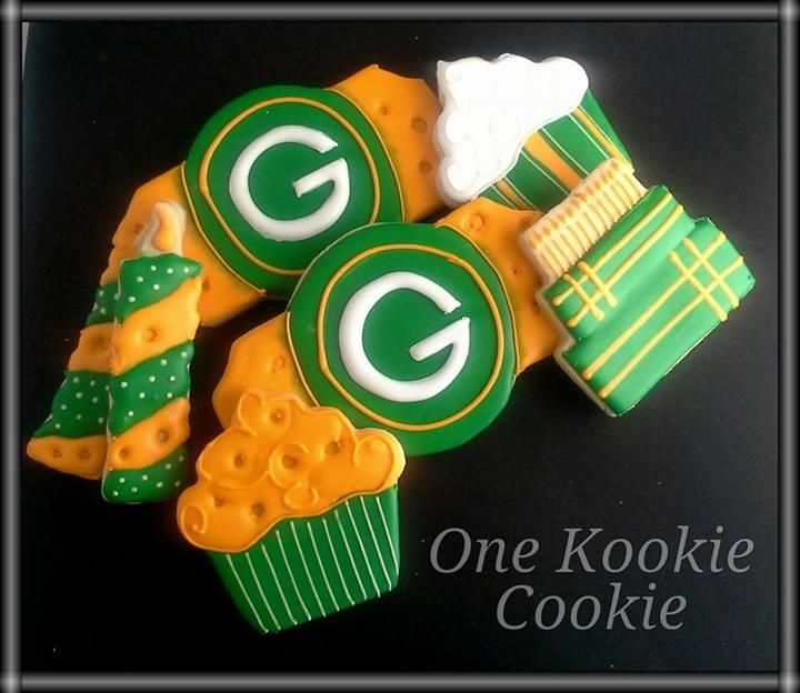 Green Bay Packers Cookie Cake