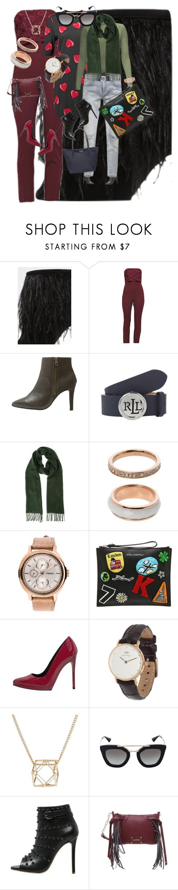 """Brought to You By the Zalando.ch"" by msdejazzy ❤ liked on Polyvore featuring Little Mistress, Miss Selfridge, Liebeskind, Topshop, even&odd, Daniel Wellington, SELECTED, Prada, Lipsy and Lacoste"