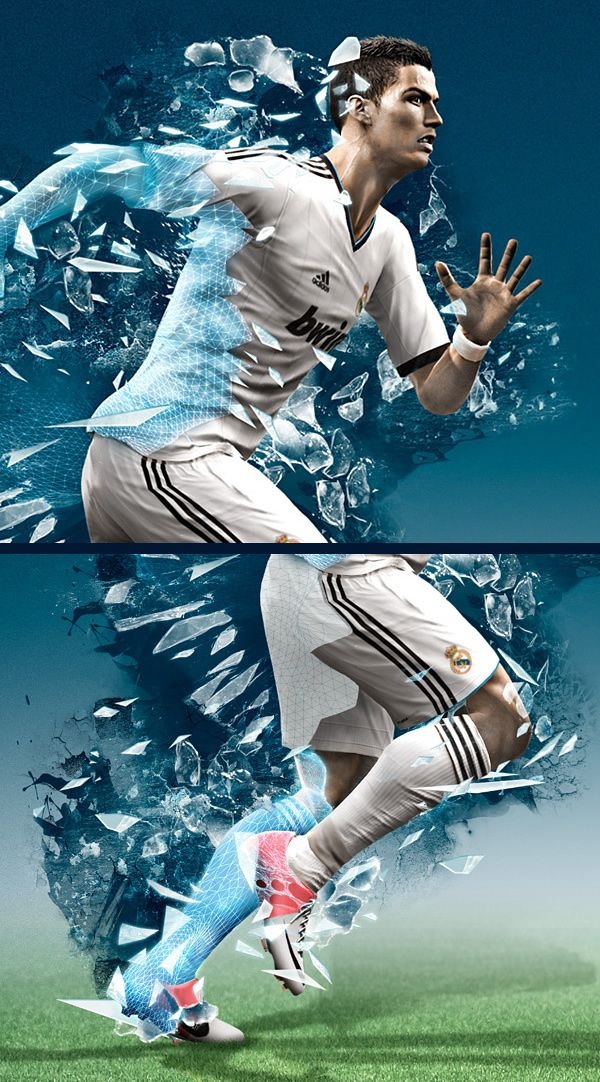PES 2013 Photoshop and Cinema 4D Case Study    (For Every Single Day)