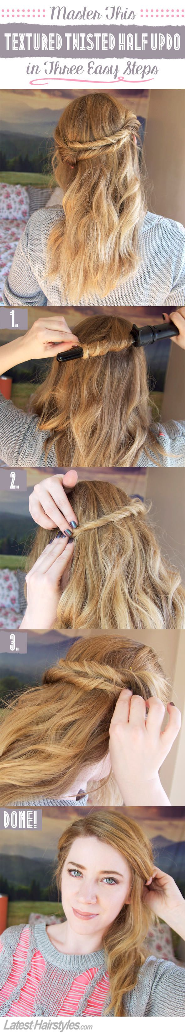 605 best Hair Tutorials images on Pinterest