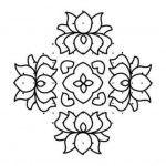 Pongal Kolam Designs Patterns : Thai Pongal Kolam Decorations