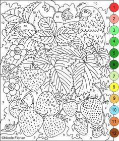 ... Unusual Inspiration Ideas Adult Color By Number Pages 10 Imposing  Design 1000 Images About Coloring On ...