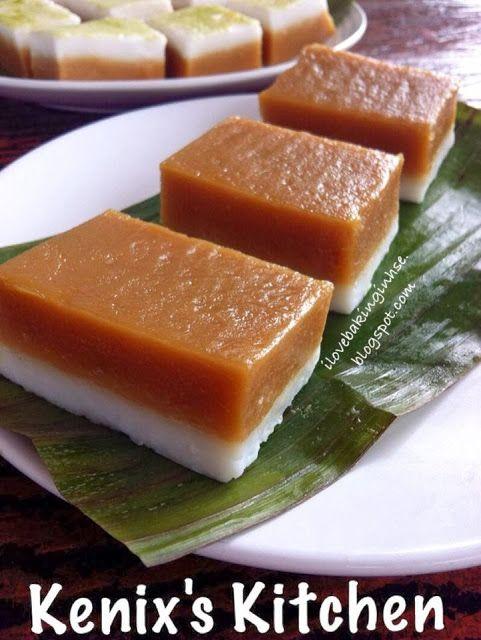 Kenix's Kitchen: 椰糖Talam糕