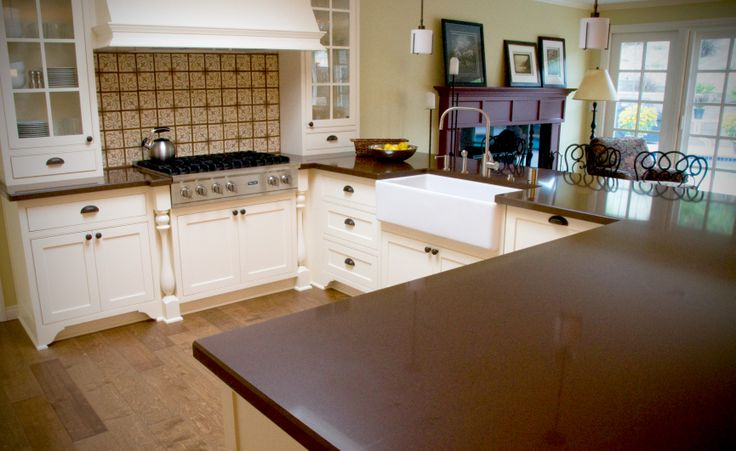 Barn Sinks For Kitchen : ... barn sink, and backsplash to create a new kitchen. Custom Kitchens