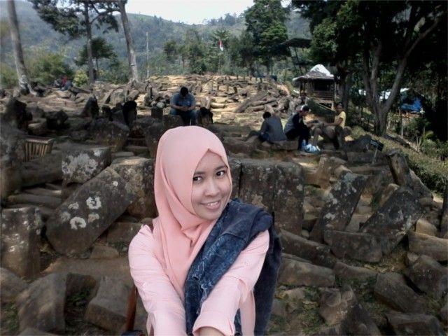 Beautiful heritage at Gunung Padang, West Java