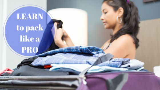 Learn to pack like a pro   Deciding what to bring on vacation is almost as challenging as trying to pack it all in one tiny bag or two. We've scoured the internet and found some of the best kept secrets and tips on how to pack like a pro.