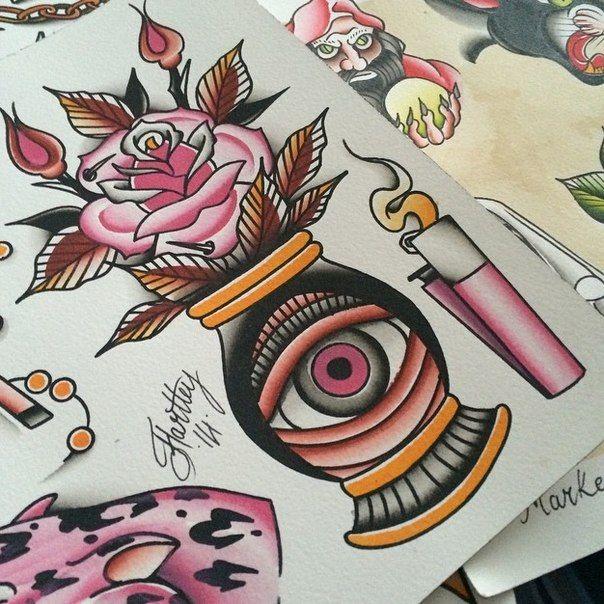 Эскиз для тату #art #рисунок #арт #эскиз #тату #татуировка #картинка #рисунок #картина #творчество #глаз #фотография #зажигалка #цветок #огонь #роза