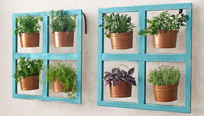 Add a Hanging Bucket Herb Planter - Cosmopolitan.com
