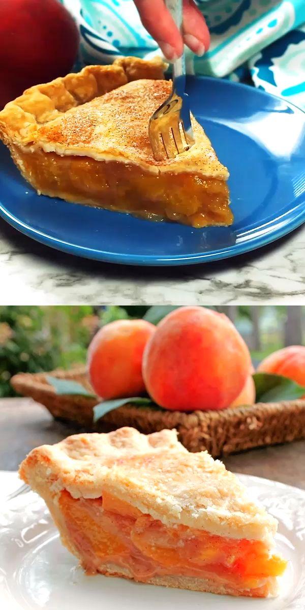 Der perfekte Pfirsichkuchen – Der Geschmack der Pfirsiche ist von vornherein köstlich. Das…   – Bunny's Warm Oven