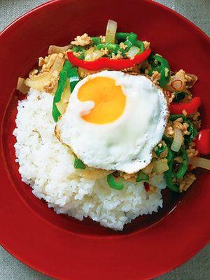 【ELLE a table】大葉のガパオ風ごはんレシピ|エル・オンライン