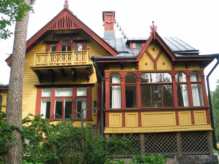 Wooden jugend house Finland