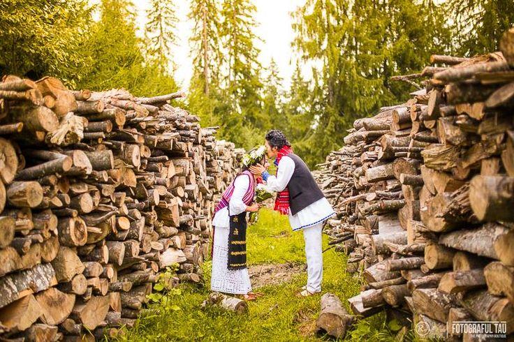 Photo of the day - Romanian wedding. Credits La Blouse Roumaine #beautiful #wedding #love #romania #tradition #costume