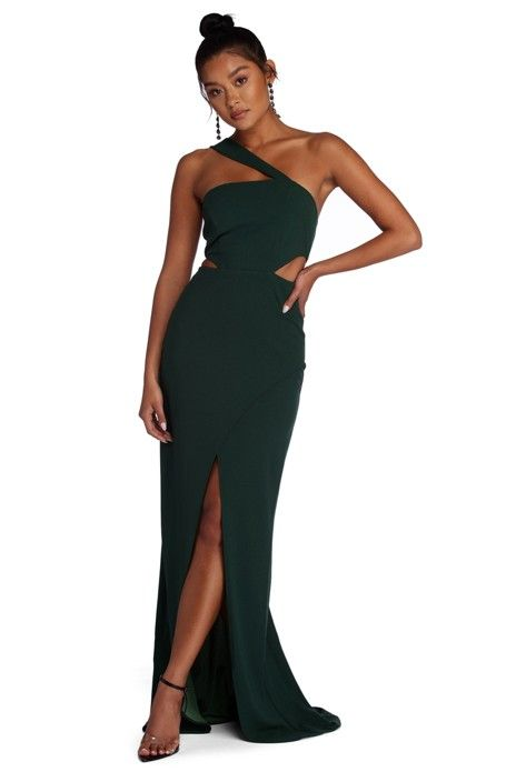 8a2cfff1da Erica Formal One Shoulder Dress in 2019