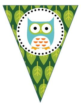 Cute Owl Welcome Banner!