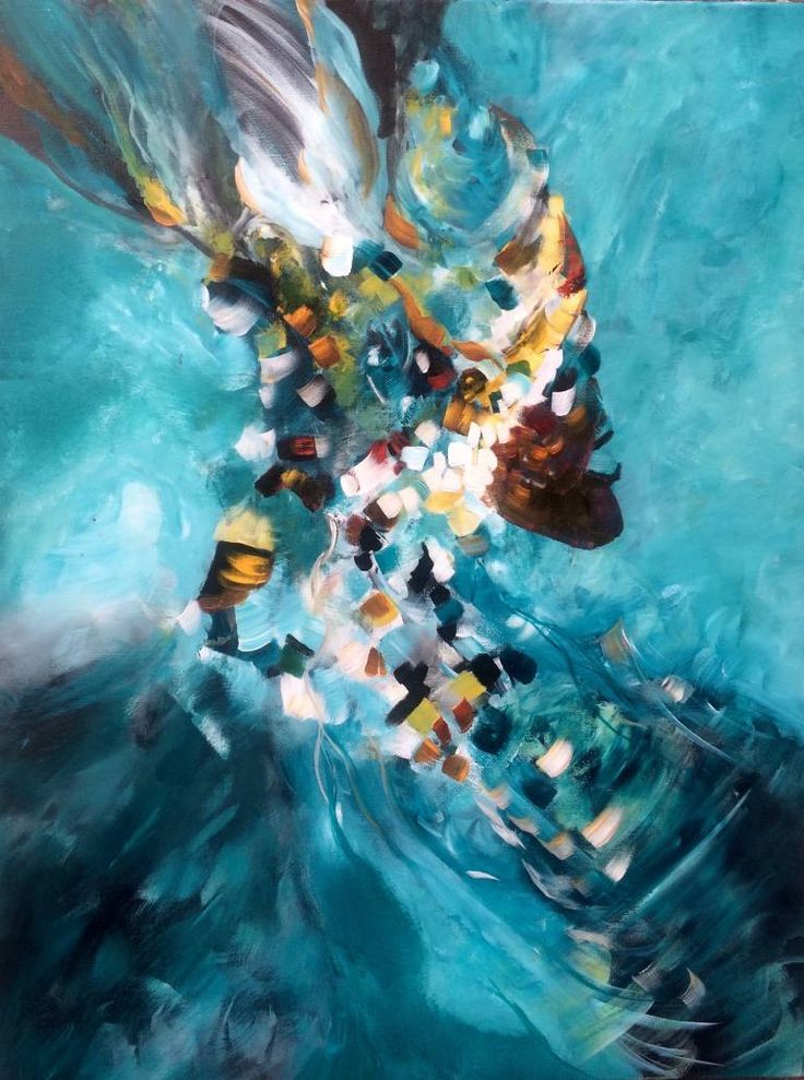 """Free your mind""  by Mo Tuncay #painter #painting #artist #art"