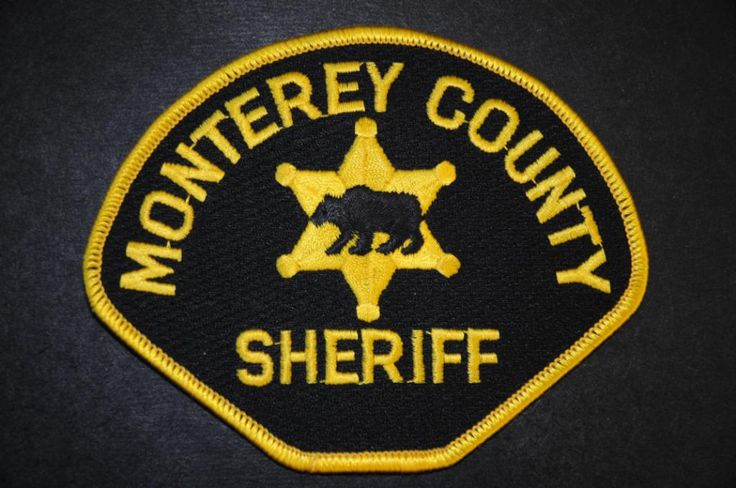 Monterey County Sheriff Patch, California (Current Issue)