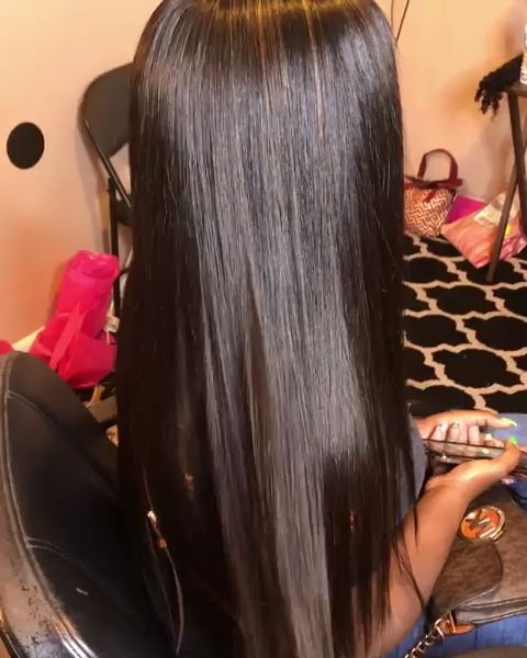 Thriving Hair Virgin Human Hair Brazilian Silky Straight Pre-Plucked Full Lace Wigs [V2-FULL]