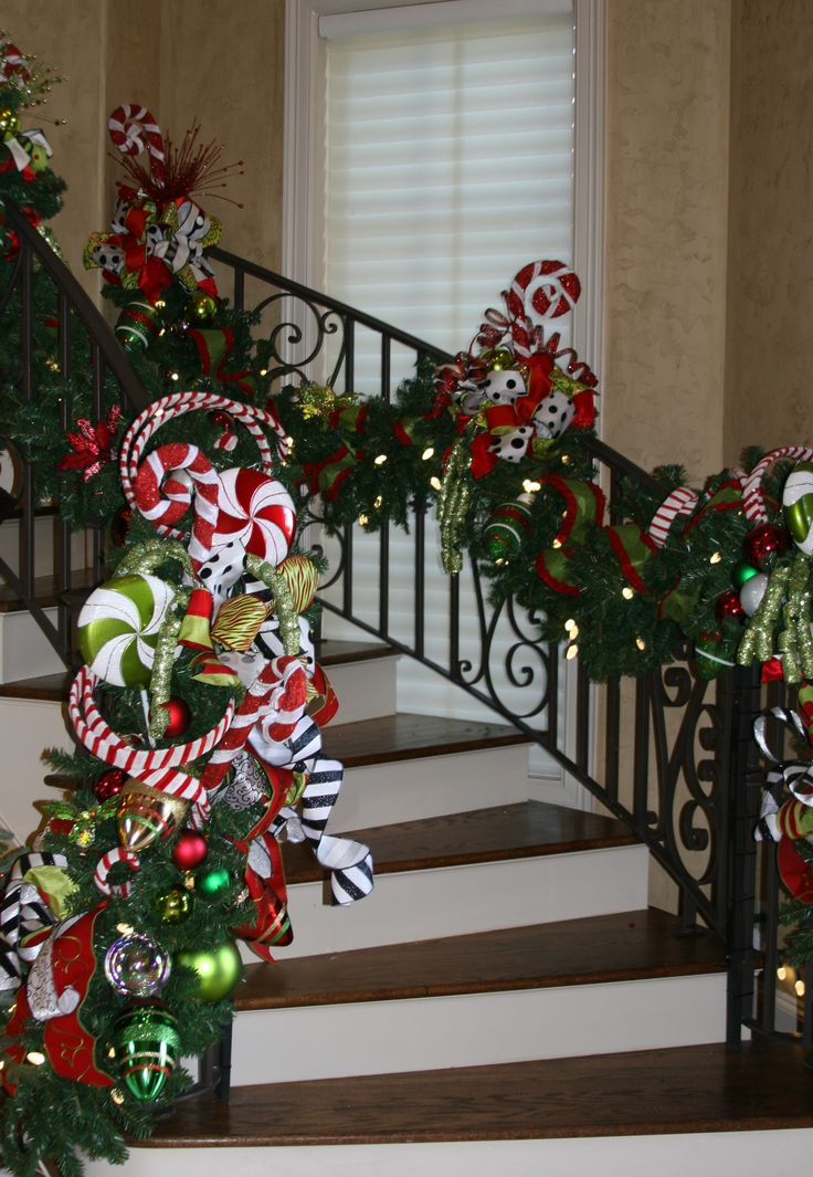 198 Best Images About I Love Christmas Staircases On