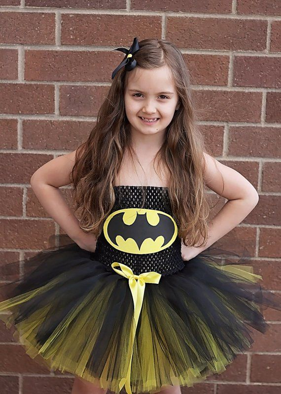 Pin for Later: 31 Halloween Costumes You Can Make Out of a Tutu Batman/girl Batman/girl Tutu Costume ($45)