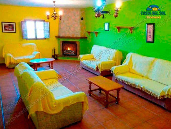 Casa rural Alejandro para 18 personas en Almáchar - 2