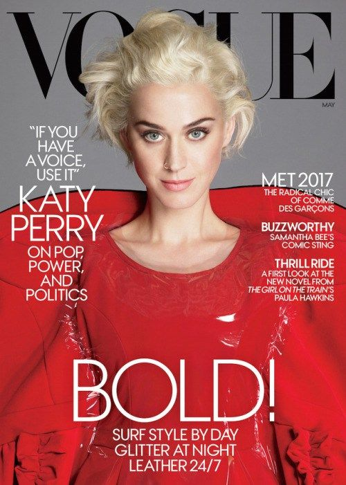 vogue: Katy Perry stars on the cover of our May issue!Read the