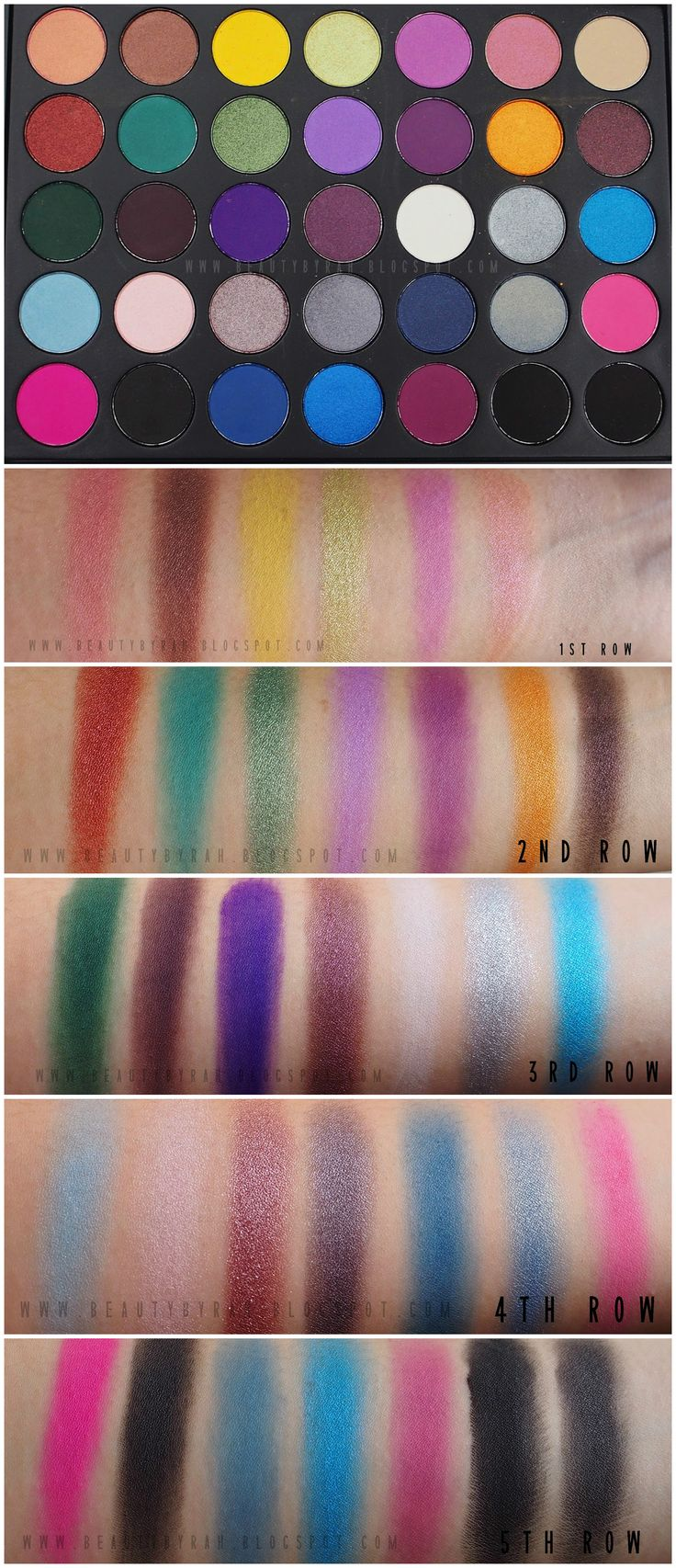 morphe brushes eyeshadow review. review \u0026 swatches | morphe brushes 35s smokey palette morphe brushes eyeshadow review e
