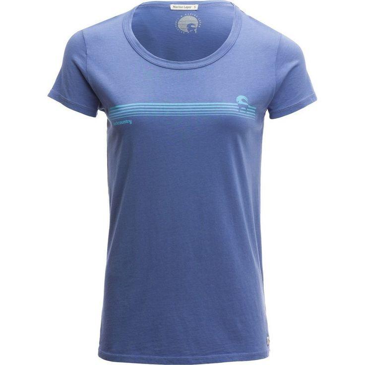 Backcountry - Marine Layer Horizon Goat T-Shirt - Women's - Periwinkle
