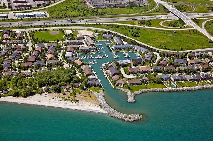 #AerialPhotography in Ontario [BP imaging - Bochsler Photo Imaging] #aerial #boats #lake #highway #Ontario #LakeOntario #photography #BPimaging
