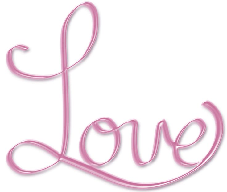 Wordart Graphics   Pink Love PNG word art text by ~crysluvsjim on ...