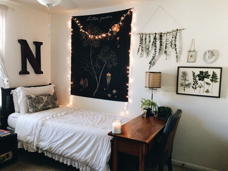 coffeeandmoorland:  || 2.25.2016 || I'm sick, but I get so bored just staying in bed all day, so I redecorated my room. I'll probably end up changing it again soon like I always seem to do, but for now I love it!