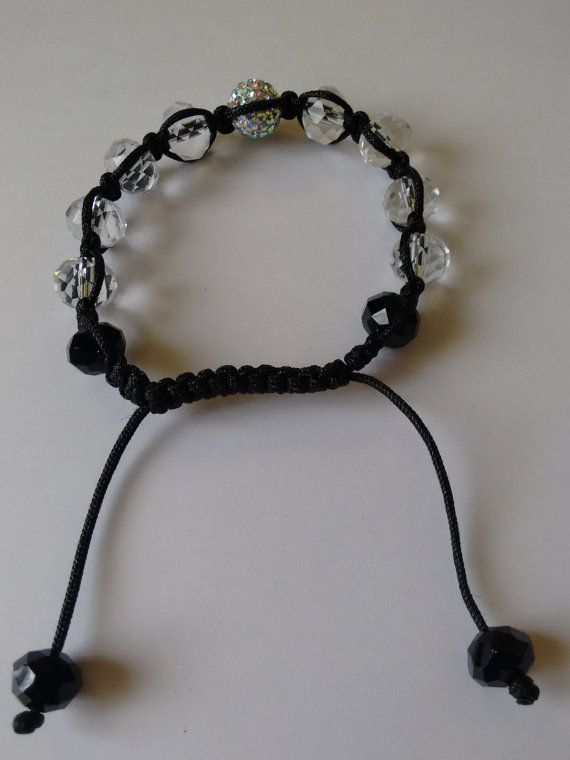 Shamballa Style Bracelet by sandrascurios on Etsy