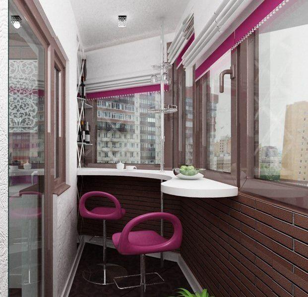 Фотография: Балкон, Терраса в стиле Хай-тек, Интерьер комнат, Советы, украшение балкона, дизайн балкона, как обустроить балкон – фото на InMyRoom.ru