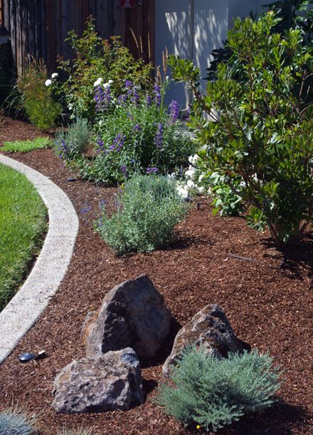 164 best landscape mulch images on pinterest backyard for Best low maintenance garden