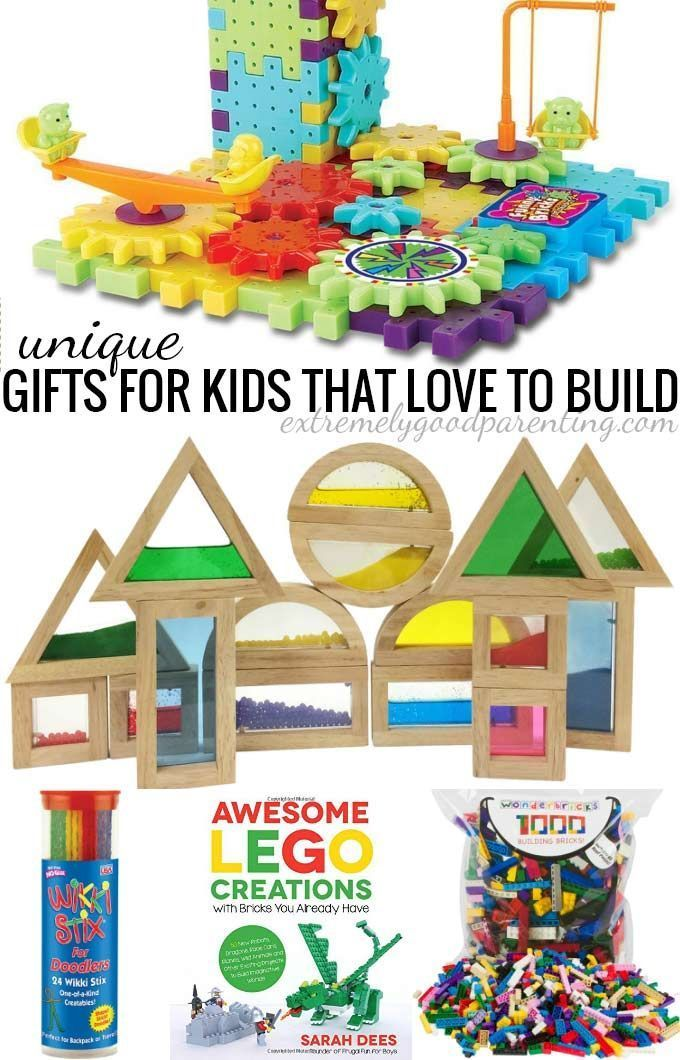 Unique Toys For Toddlers : Unique toys for kids that love to build construct and