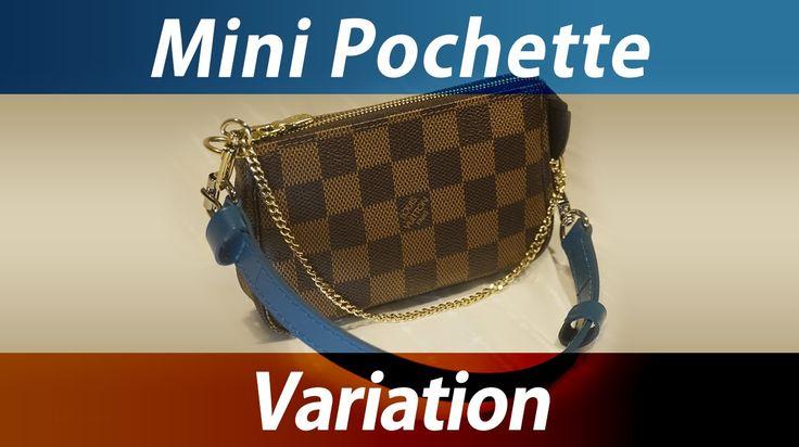 Louis Vuitton Mini Pochette variation ♬