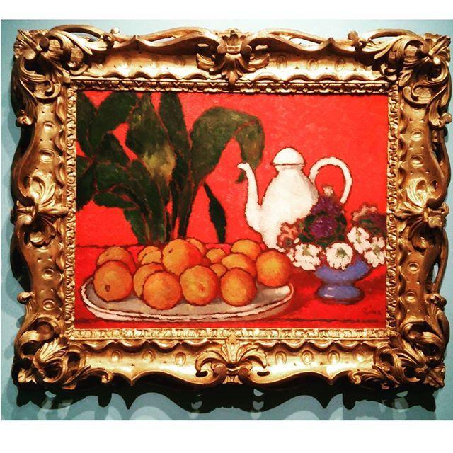 RIPPL-RÓNAI József: Still life with orange, cca 1910 #hungarianartist #hungarianart #exhibition #budapest #kieselbach #kieselbachgallery #kunstausstellung #ripplronai #oilpainting #fineart #red #oiloncardboard #modernart #artmoderne #xxcentury #fauve #fauvism #ig_artistry #ig_budapest #ilovebudapest #decorativeart #artlovers #museumlover #colorful