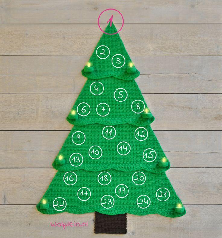 De Wolplein AdventsCALender: een prachtige kerstboom waarin vanaf 1 december iedere dag een nieuwe versiering komt te hangen. Doe je ook mee met deze CAL?