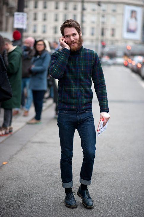 チェックシャツ 着こなし メンズ 【柄別の印象と着こなし8選】 | 男前研究所