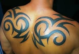 Image result for awesome tribal back tattoo