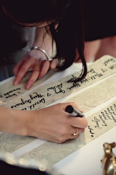 wedding guestbook & guest messages