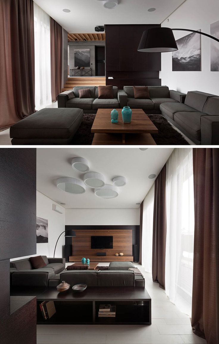 Sergey Gotvyansky of NOTT Design Studio, has sent us photos of their latest project, Two Levels, that included a complete re-design of a house for a family in the city of Dnepropetrovsk, Ukraine.