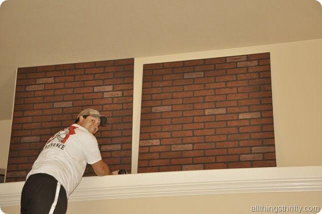 Faux Brick Panels Brick Paneling Faux Brick Panels And Bricks