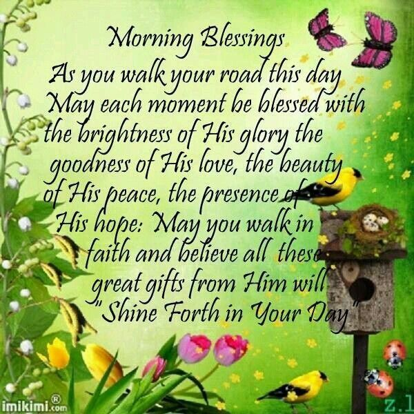Morning Blessings Pictures