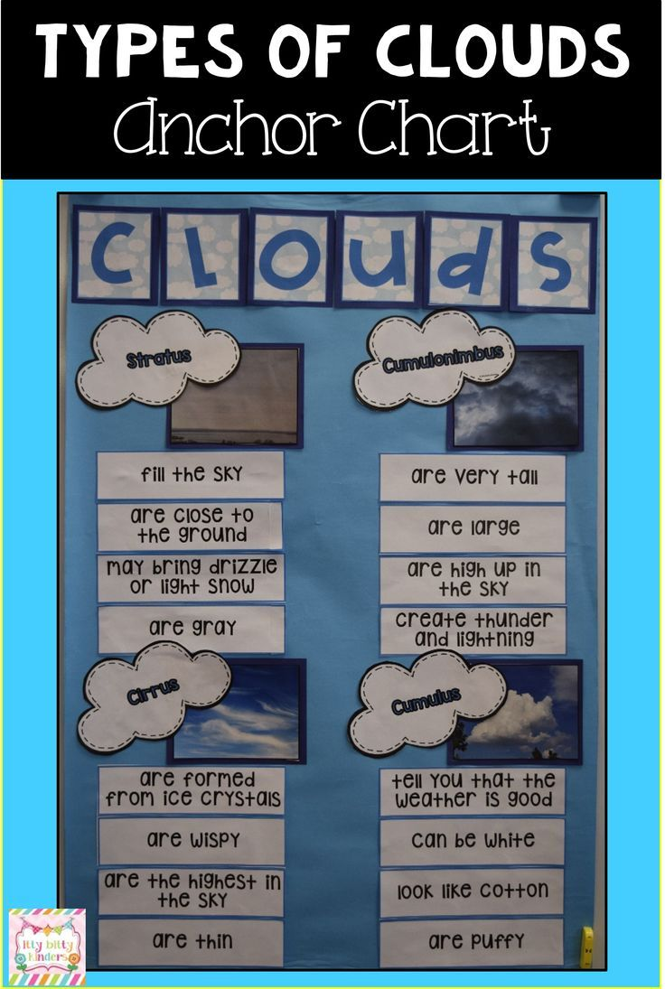 This Science Anchor Chart Is Perfect For Kindergarten And First Grade Teachers Can Use It To Teac Science Anchor Charts 4th Grade Science Weather Kindergarten