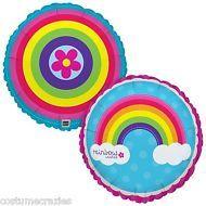 Rainbow Party Foil Balloon